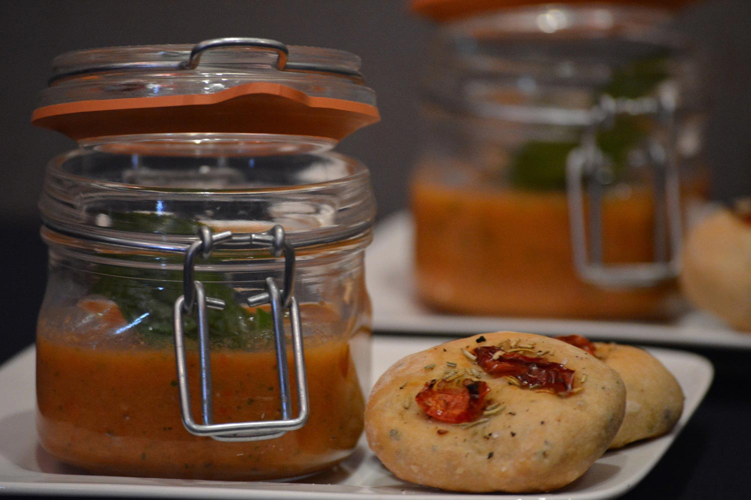 gazpacho focaccia season high tea bie de tied